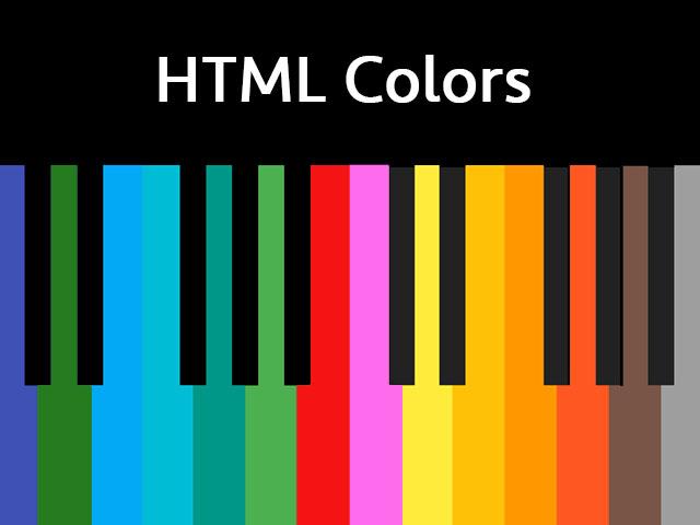 HTML Colors
