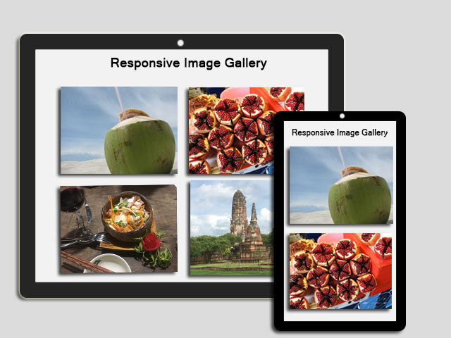 How to create an Image Gallery with HTML and CSS?