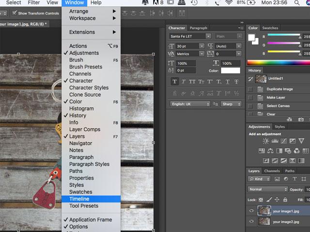 How to make an animated GIF?