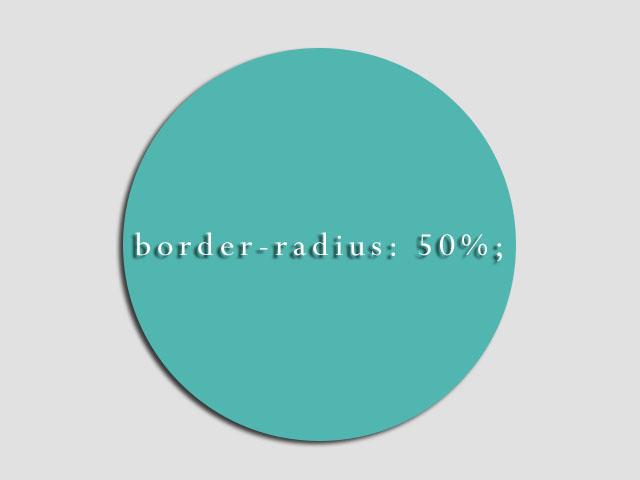CSS border-radius property