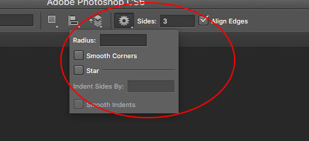 Triangle Shape in Photoshop