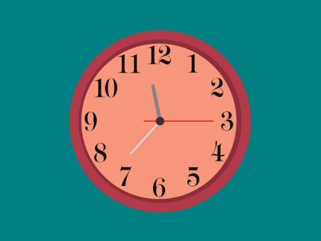 css analog clock