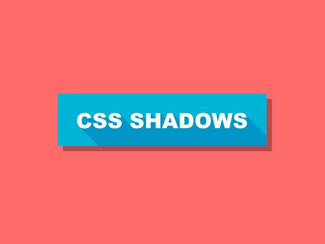CSS shadows