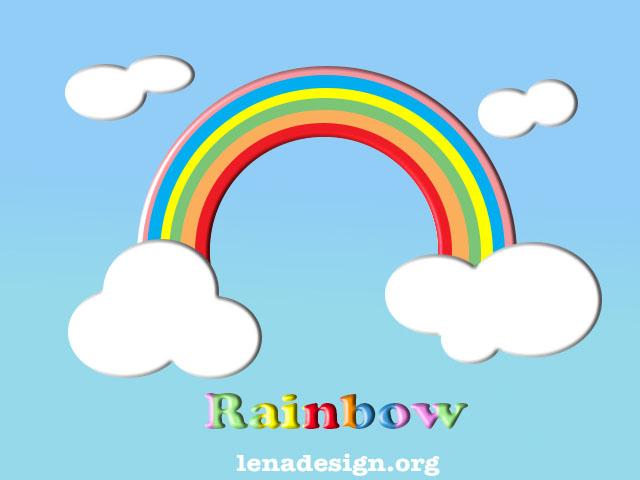 Rainbow Text and Rainbow