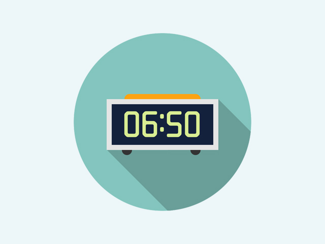 CSS digital clock