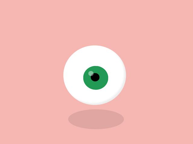 CSS eye follow animation