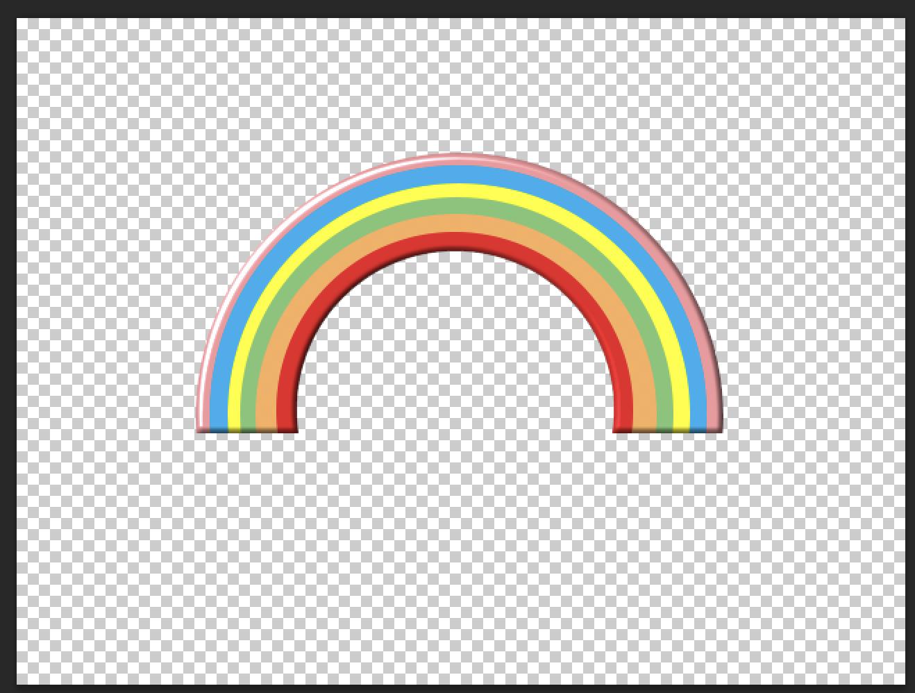 Rainbow Adobe Photoshop