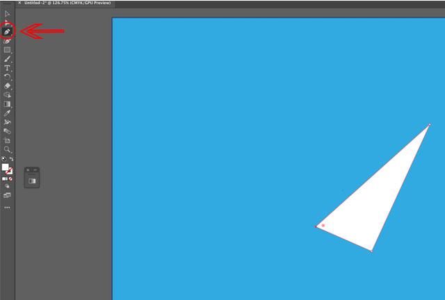 paper plane in illustrator