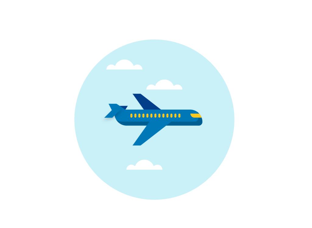 CSS Plane Animation