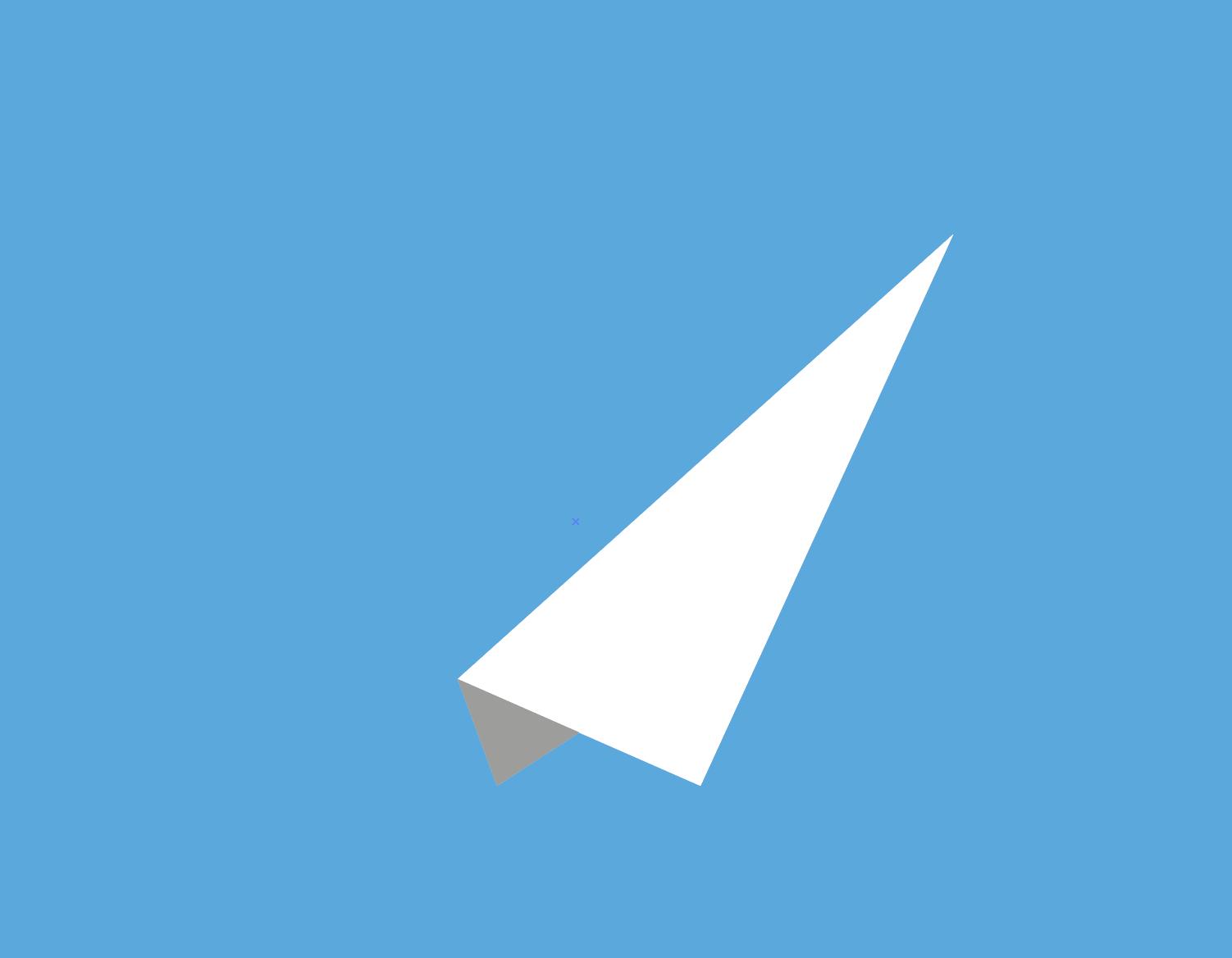 paper plane illustrator
