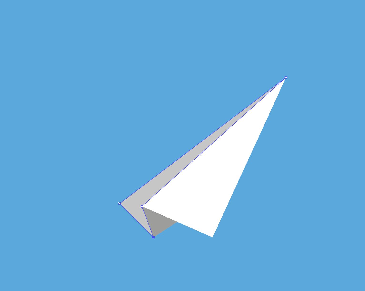 paper plane adobe illustrator