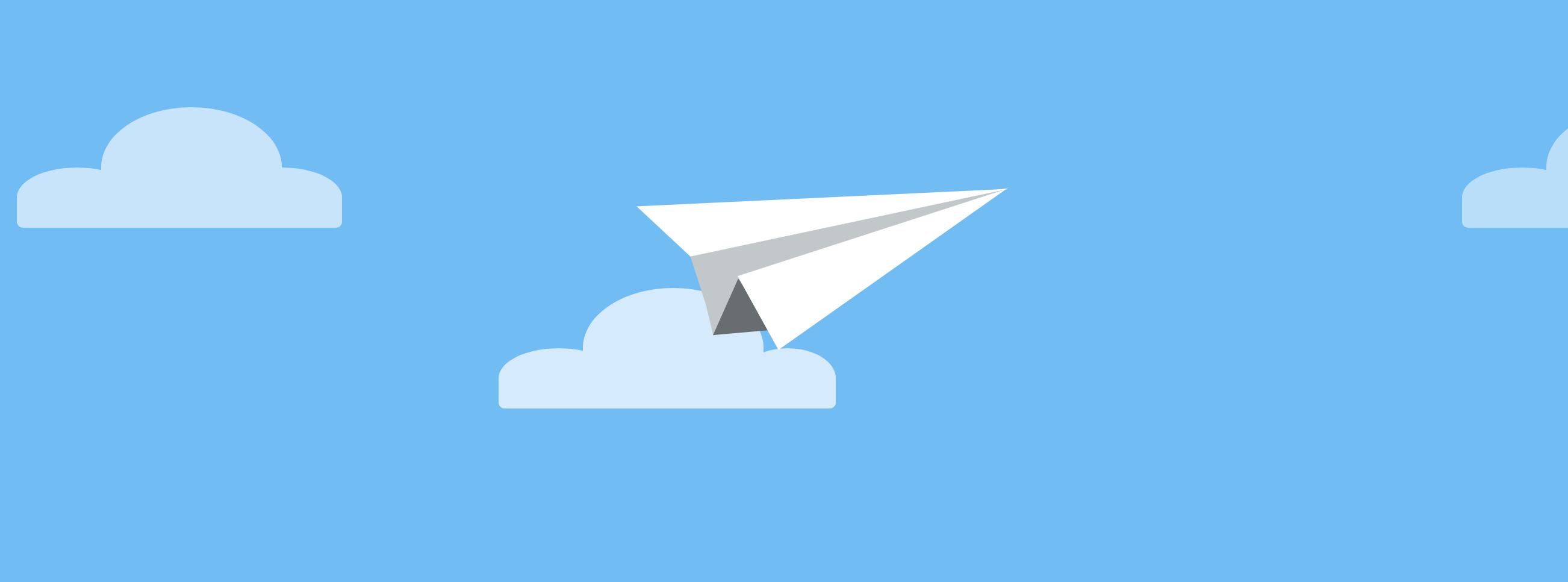 CSS Paper plane