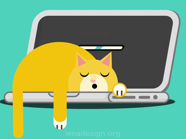 CSS Sleeping Cat
