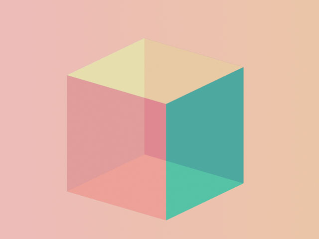 CSS 3d cube