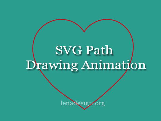 SVG Path Drawing Animation