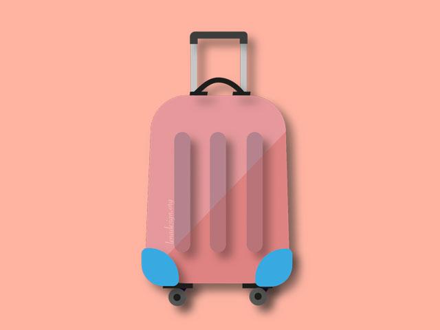 SVG luggage