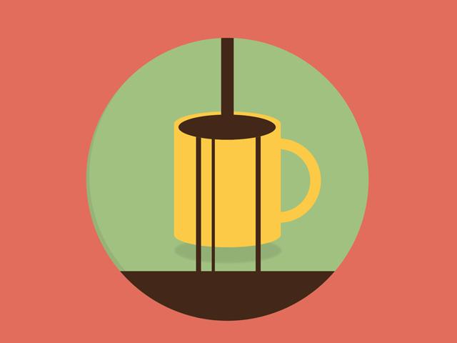 CSS coffee animation