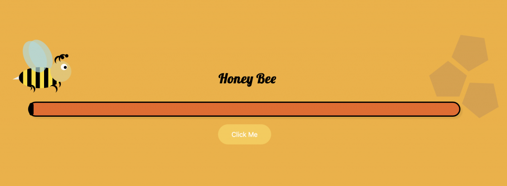 CSS Honey Bee Animation