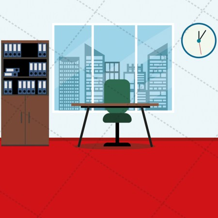 office vector image