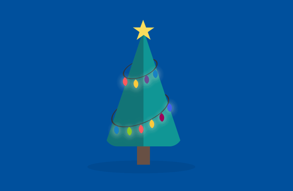 CSS Christmas Tree Animation
