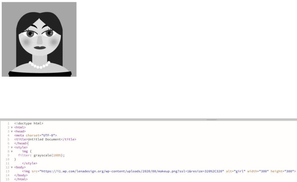 CSS Fliter Grayscale