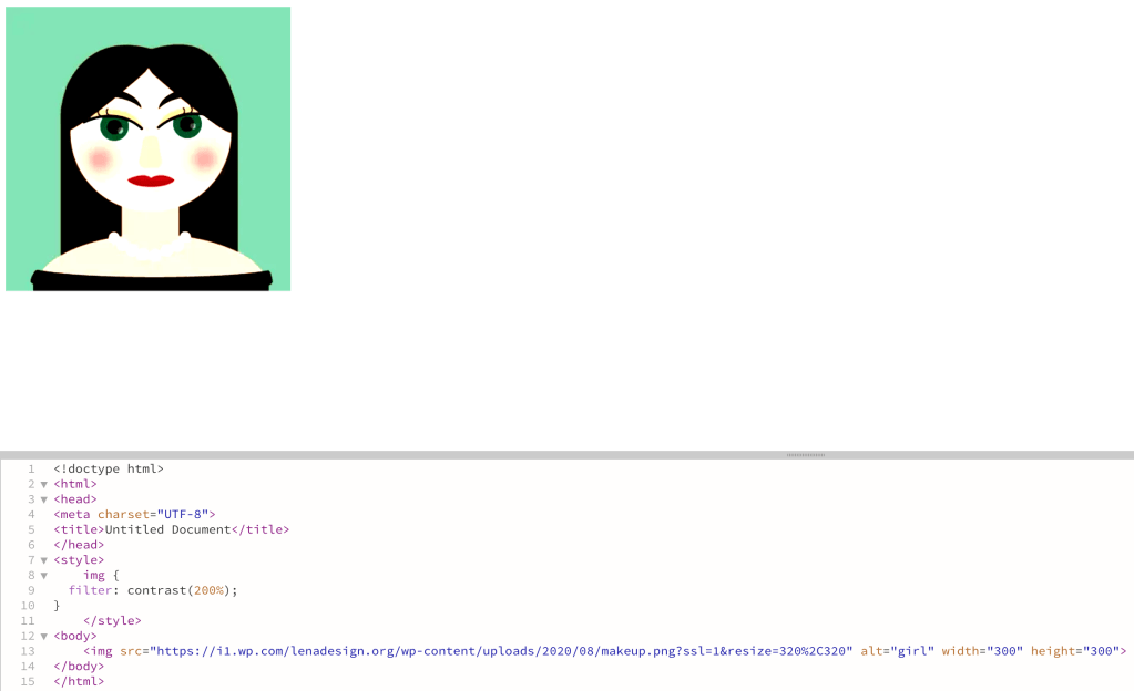 CSS Filters - Contrast
