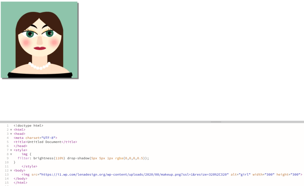 CSS Multiple Filters