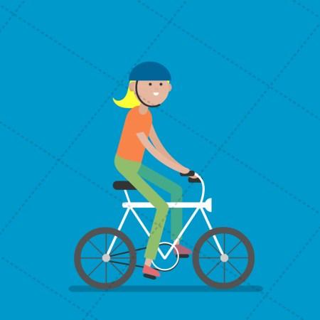 cyclist-girl
