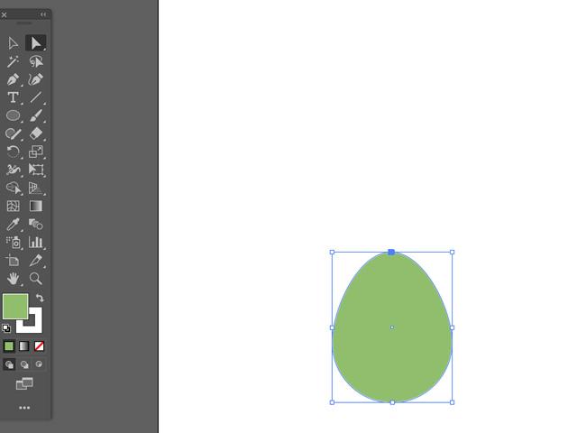 egg shape in adobe illustrator