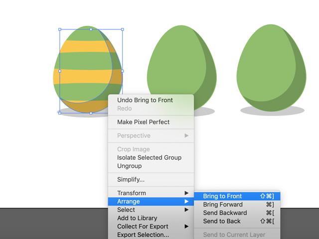 easter egg stripes