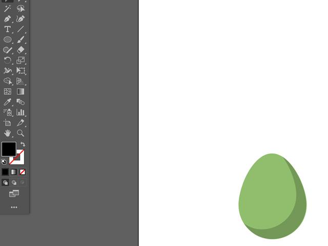 egg shape adobe illustrator