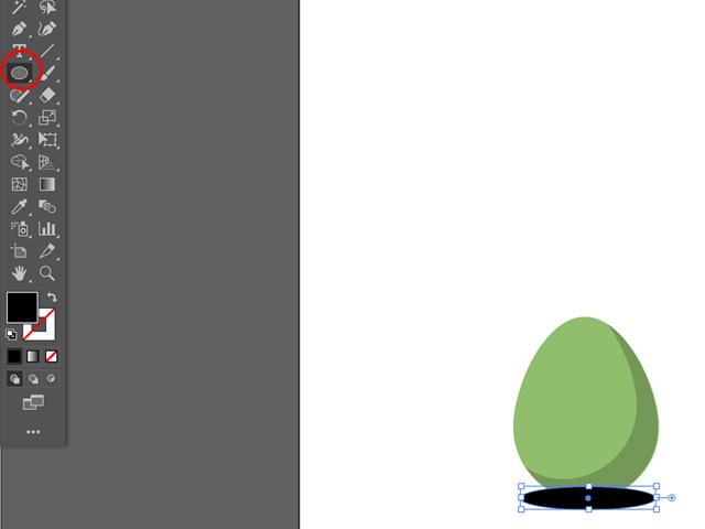 draw an egg shape in adobe illustrator