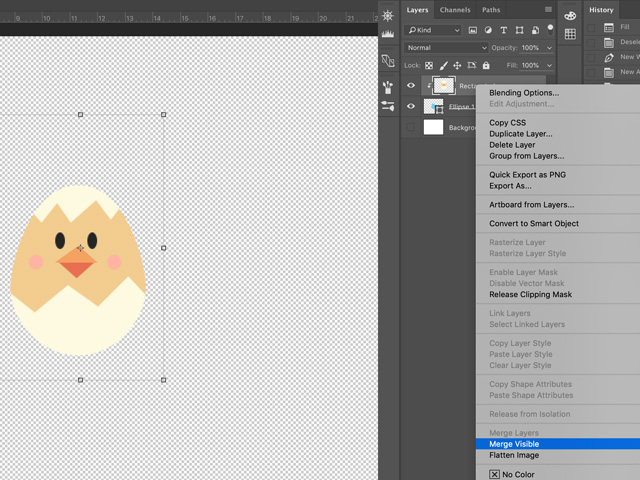 easter egg in photoshop