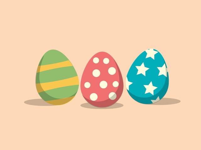 Easter Eggs Adobe Illustrator