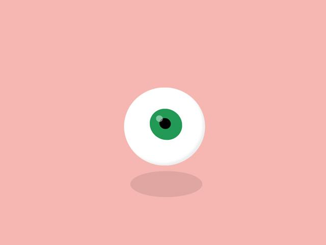 CSS & jQuery Eye Animation