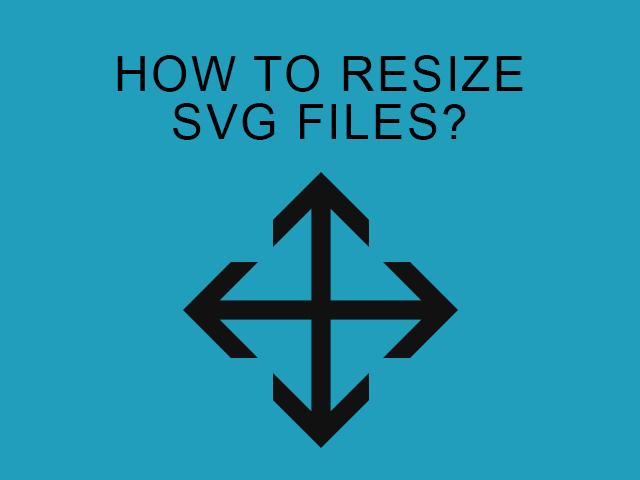 resize SVG files