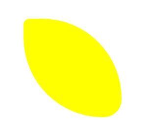 CSS Lemon Shape