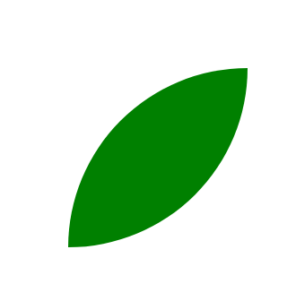 CSS Leaf Shape