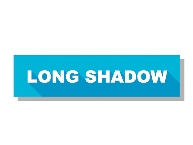 CSS Long Shadow Text Effect