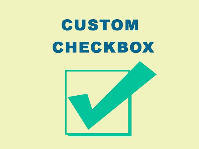 CSS Custom Checkbox