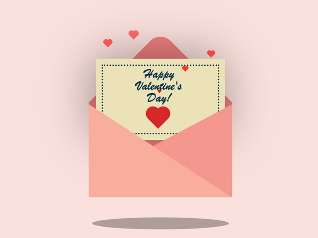 CSS Valentine's Day Card
