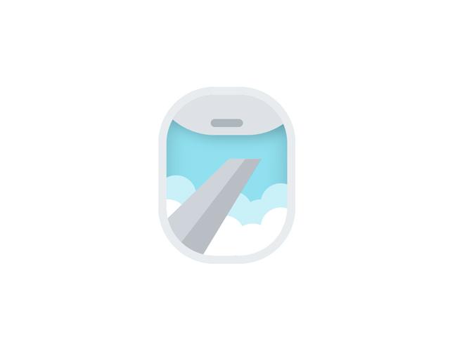 CSS Airplane Window View