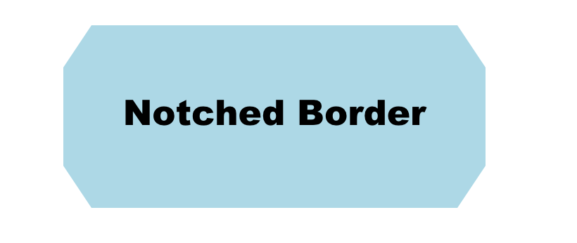 CSS Notched Corners