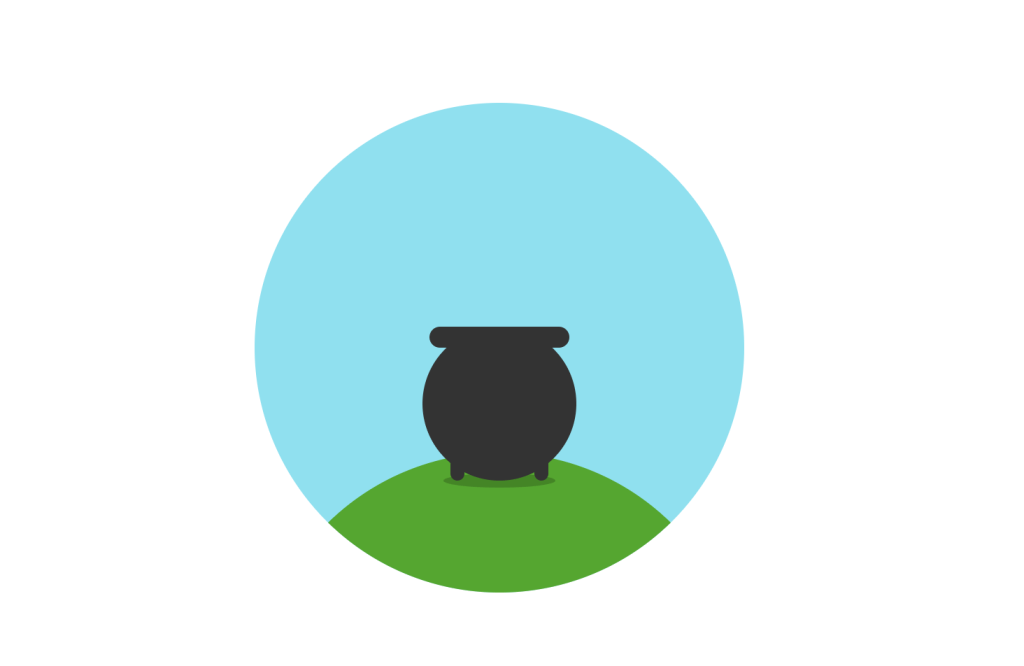 CSS Pot of Gold Animation