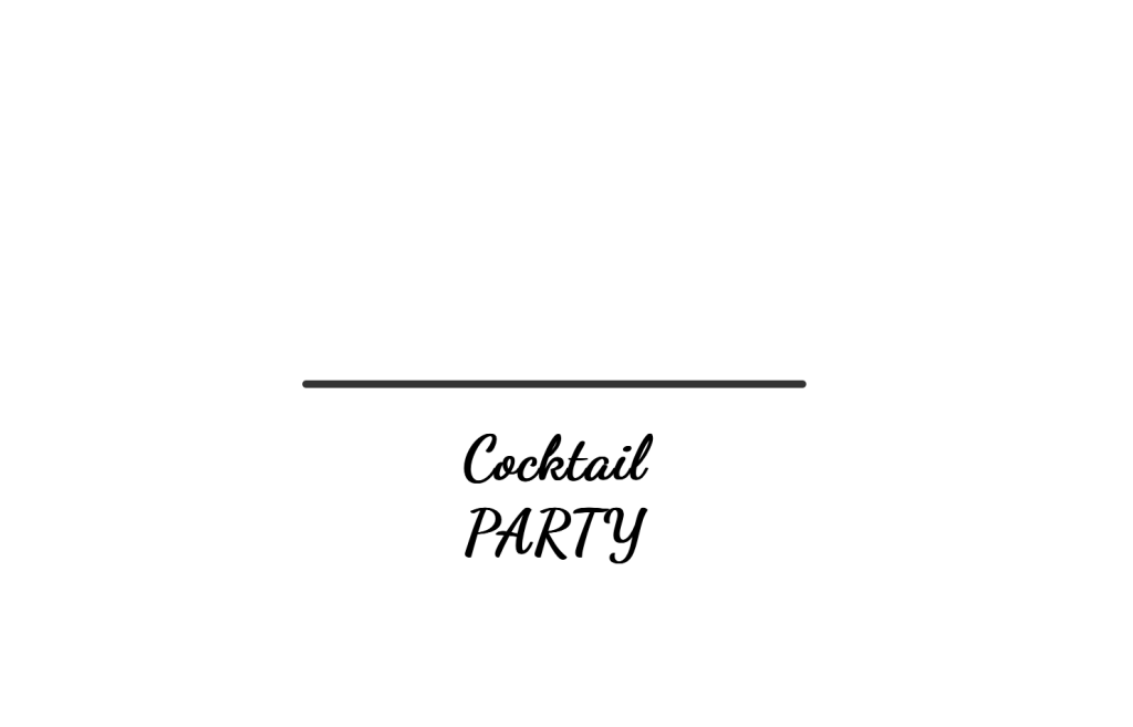 CSS Party drink