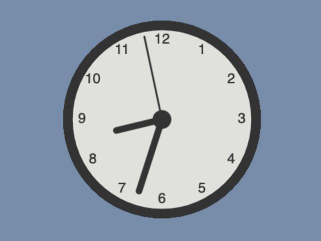 Canvas Clock JavaScript