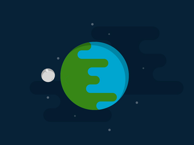 CSS Earth and Moon