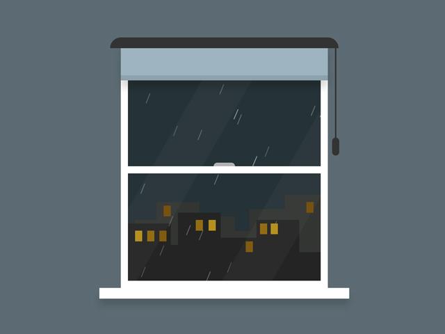 CSS Rain Animation