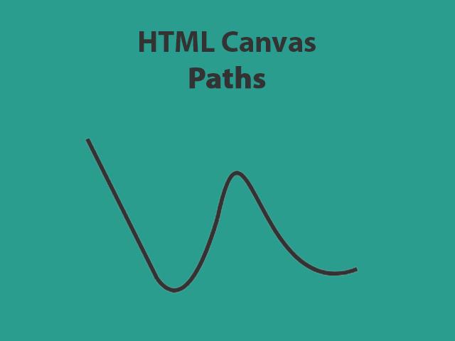 HTML Canvas Paths
