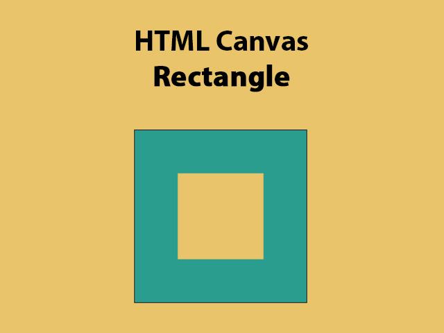 HTML Canvas Rectangle